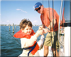 Indian River Lagoon fishing is perfect for young kids
